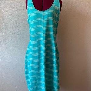 Columbia athletic dress sz S teal racerback bra